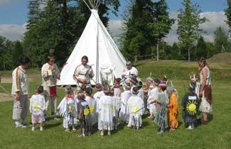 Classe découverte Les Amérindiens