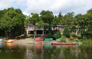 Base de loisirs La Mazure - Vue du lac