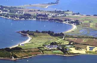 Domaine de Bilhervé - île d'Arz