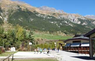 Vue du CIS de Val Cenis