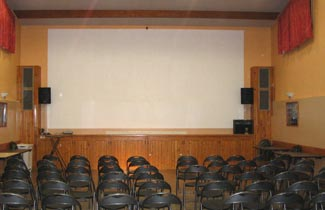 Salle de projection du CIS
