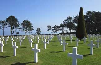 Cimatière Américain Normandie