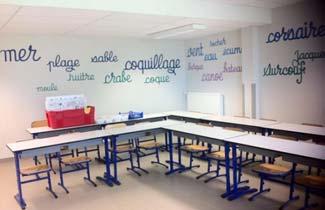 Centre de vacances de l'Aurore - Salle de classe
