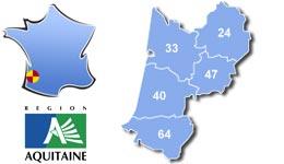 Les centres d'hébergement pour groupes scolaires et colonies, en Aquitaine