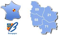 Les centres d'hébergement pour groupes scolaires et colonies, en Bourgogne