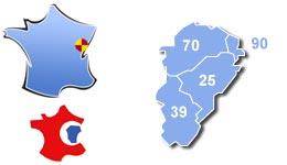 Les centres d'hébergement pour groupes scolaires et colonies, en Franche-Comté