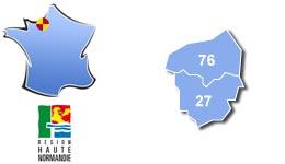 Les centres d'hébergement pour groupes scolaires et colonies, en Haute-Normandie