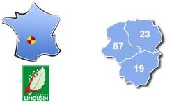 Les centres d'hébergement pour groupes scolaires et colonies, dans le Limousin