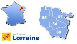 Les centres d'hébergement pour groupes scolaires et colonies, en Lorraine