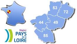 Les centres d'hébergement pour groupes scolaires et colonies, en Pays de la Loire