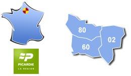 Les centres d'hébergement pour groupes scolaires et colonies, en Picardie