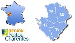 Les centres d'hébergement pour groupes scolaires et colonies, en Poitou-Charente