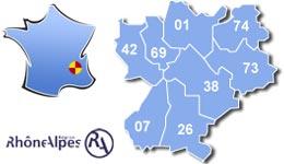 Les centres d'hébergement pour groupes scolaires et colonies, en région Rhône-Alpes