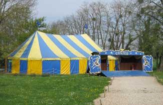 Cirque équestre Cocico - Le chapiteau