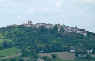 Village de Lauzerte - Accueil classe découverte
