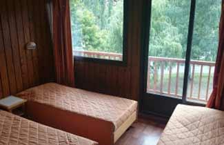 Chambre du centre de séjours Les Ecrins d'Azur