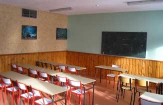 Les Ecrins d'Azur - Une salle de classe