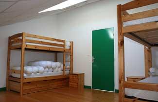 Chambre du centre de vacances de Trégastel