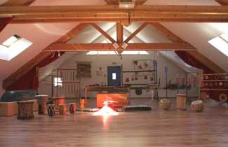 La salle de musique de La Fontaine de l'Ours