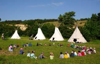 Une classe découverte à vacances Indian's Vallée