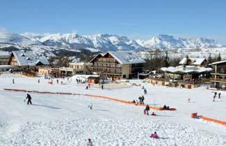 Centre de vacances l'Arche - Front de neige