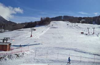 Centre L'Arche - Vue des pistes de ski