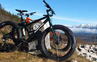 Fat-Bike à la Gélinotte