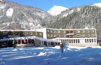 Centre de vacances Le Brudou, en hiver