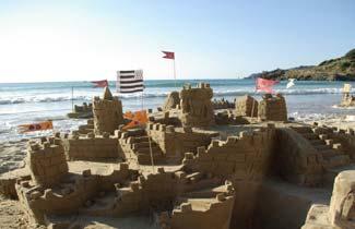 Les Calots Verts - Chateau de sable