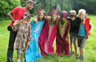 Les Calots Verts - Les enfants déguisés