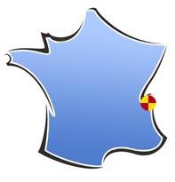 Situation du centre Les Chamois