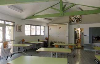 Salle à manger du centre de séjours Les Joncas