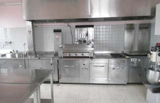 La cuisine du chalet Les Louveteaux