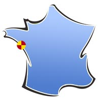 Situation Centre Mon Abri - La Pouliguen