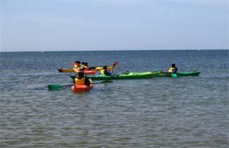 Centre d'accueil Mon Abri - Activité Kayak