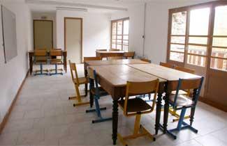 Salle de classe - Centre Neige et Merveilles