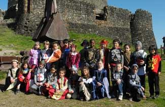 Classe découverte Moyen-Age
