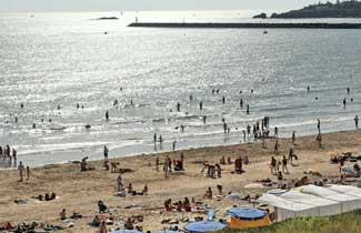 Centre classe découverte en Vendée - La plage
