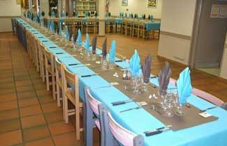 Vacancèze - Salle de restaurant