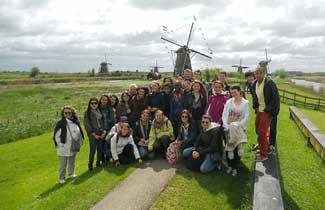 Voyage scolaire aux Pays-Bas