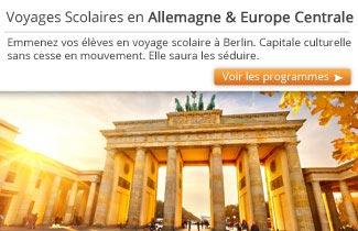 Cahier de Voyages - Voyages scolaires en Allemagne