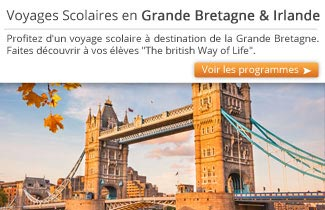 Cahier de Voyages - Voyages scolaires en Angleterre