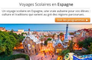 Cahier de Voyages - Voyages scolaires en Espagne