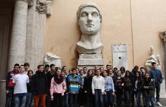 Envol Espace - Voyage scolaire à Rome