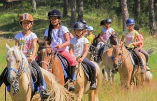 Classe découverte Odel - Séjour équitation