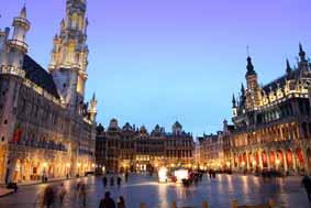 La grand place de Bruxelles - Voyage pédagogique