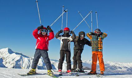 vacance au ski enfants