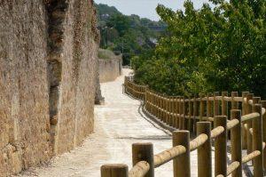 Sentier sur les hauteurs d'Amboise