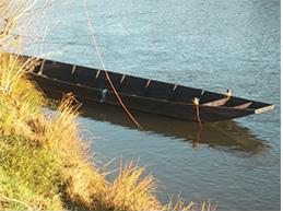 la toue : embarcation de Loire traditionnelle